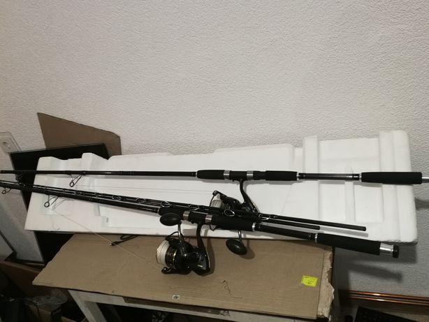 Сом Pezon Michel Titan Catfish 300см 100-250гр Катушк Penn Battle 8000
