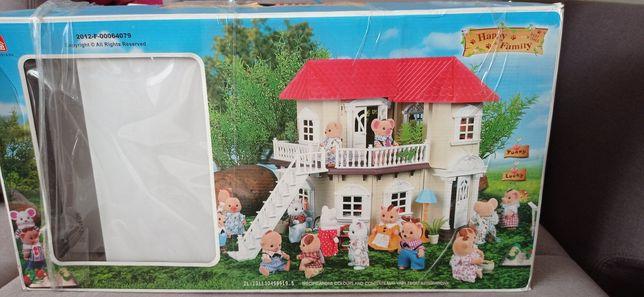 Игровой набор дом с мебелью happy family