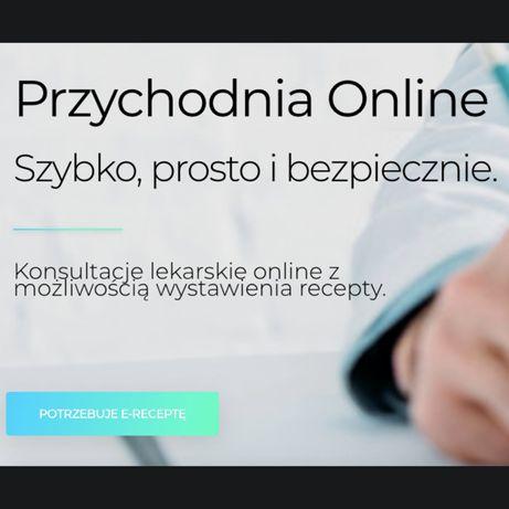 ERecepta, konsultacja lekarska online w 5 MINUT, tabletka po: 49,90