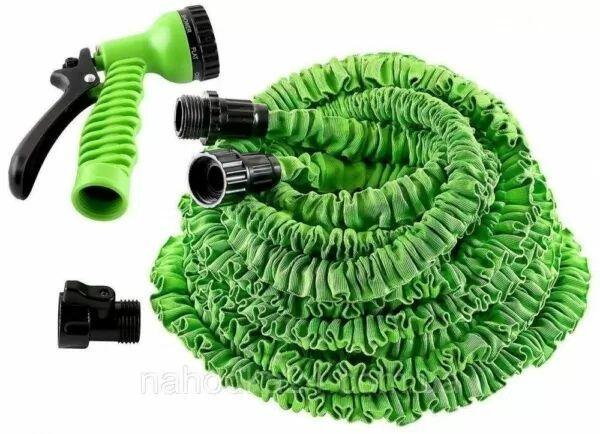 Шланг для полива X HOSE 75 м с распылителем, садовый шланг, поливочный