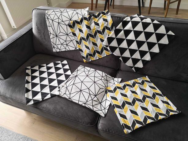 Poszewki na poduszki dekoracyjne skandynawskie LOFT 40 x 40.