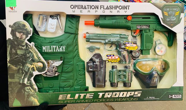 Набор военный Набор военного Детский игровой Новый в коробке