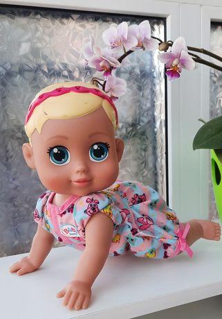 Интерактивная кукла пупсик Zapf Creation Baby Born ползающий малыш