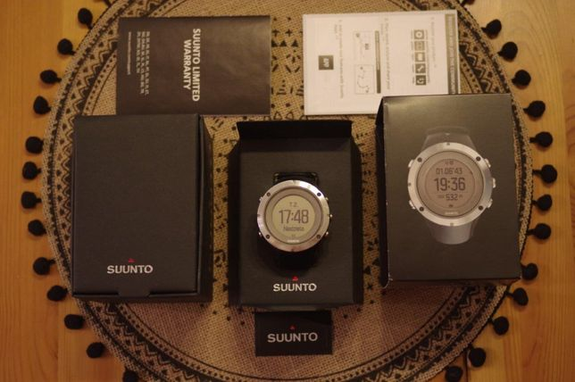 zegarek Suunto Ambit 3 Peak Sapphire barometr GPS szafirowe szkło