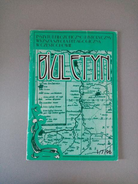Biuletyn 7 (1) 96 Instytut Filozoficzno-Historyczny w Częstochowie