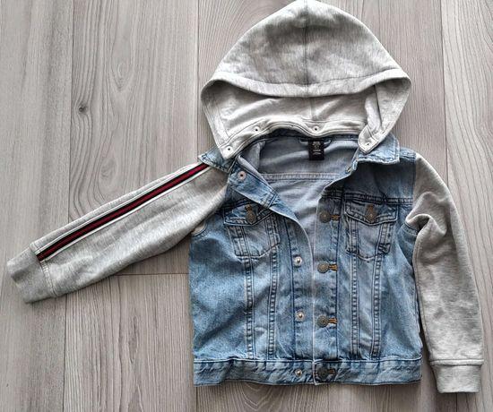 Kurtka jeansowa H&M, rozm. 116