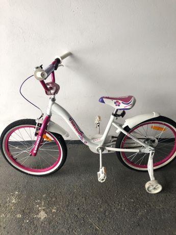 Rower dla dziewczynki na 20 calowych kolach