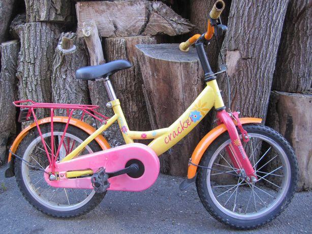 Велосипед из Германии 16 дюймов для девочки 3-6 лет.