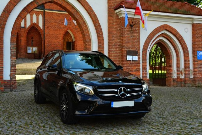 auto do ślubu Mercedes GLC AMG wolne terminy 2020 Puławy Lublin