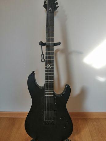 Gitara elektryczna Harley Benton HWY-25BKS przetworniki humbucker