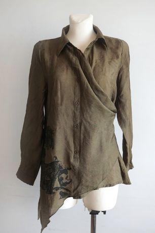 Koszula safari khaki Marc Lauge S/M