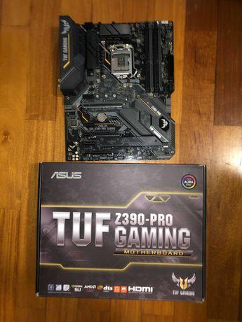 Motherboard: Asus TUF Z390-Pro Gaming;