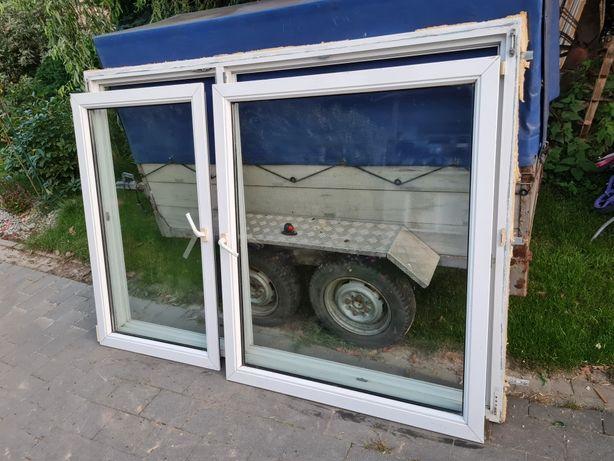 Okna z demontażu 203 x 140