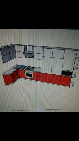 Кухню продам без фасадов