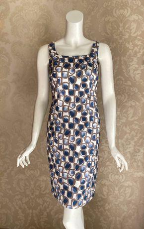Peserico оригинал Италия классическое платье футляр Brunello