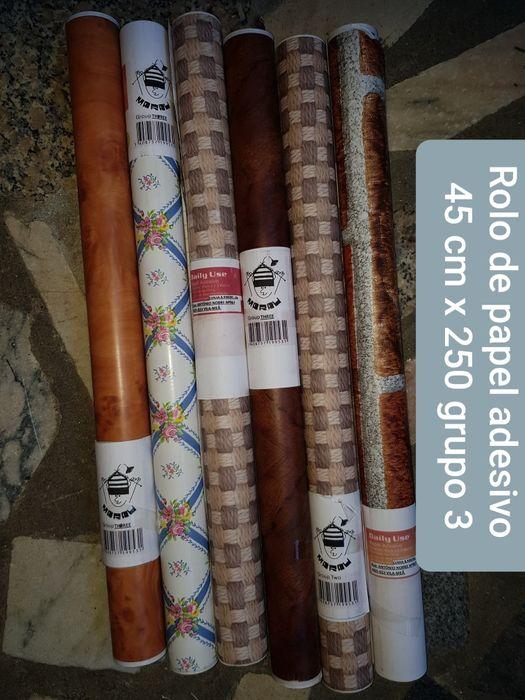 Papel adesivo papel autocolante rolos de papel adesivo Real, Ataíde E Oliveira - imagem 1