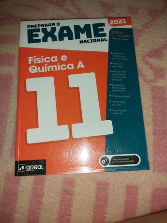 Livro de preparar o exame nacional Física e Química A 2021