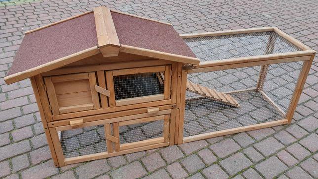 Klatka dla królików królika kojec wybieg woliera kurnik domek dla kur