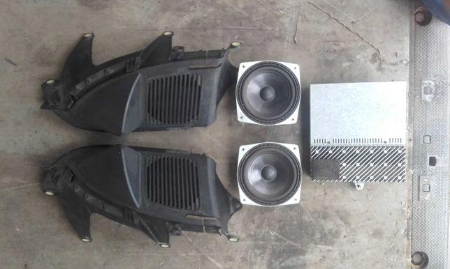 Soundsystem bmw e36 hi fi compact głośniki rarytas m pakiet wzmacniacz