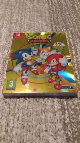 Sonic Mania Plus edição especial selado Nintendo Switch