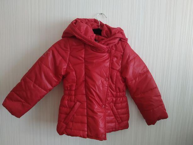 5 6 лет Tommy Hilfiger куртка на девочку пуховик дутик куртка тепла