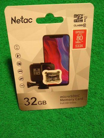 Micro sd 32Gb 10Class Флешка Карта памяти