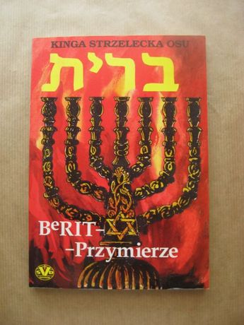 """książka """"Berit Przymirze"""" autor Kinga Strzelecka OSU"""