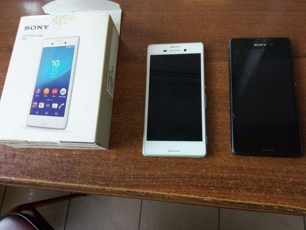 Dwa telefony Xperia M4 Agua