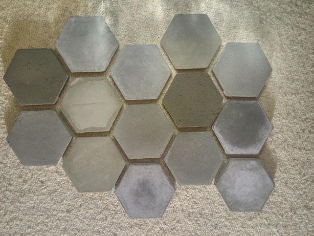 płytki dekoracyjne betonowe nie gipsowe plastry miodu możliwość doboru
