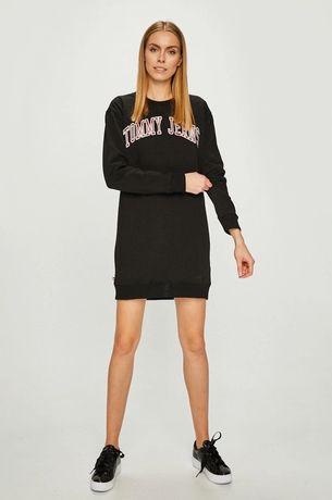 Удлиненный свитшот-платье, худи Tommy Hilfiger