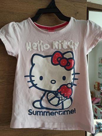 Bluzeczka Hello Kitty rozmiar 110