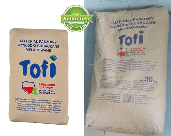 Wysłodki MELASOWANE Toffi 30 kg worek - Stabilna ENERGIA!