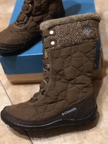Зимові, сапоги чобітки columbia