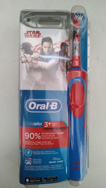 Електрична зубна щітка Oral-B D12.513K Stages Power Star Wars