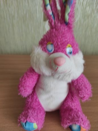 Мяка іграшка зайчик