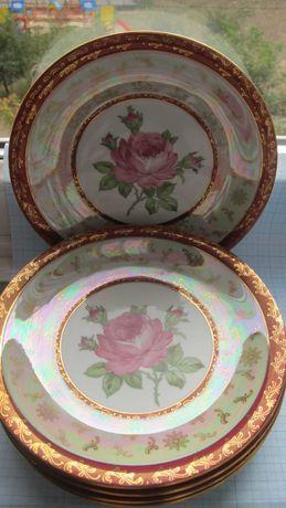 тарелки  Роза  Германия  5 шт.