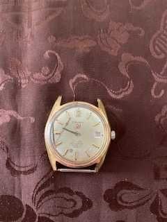 Mostrador de relógio pulso homem vintage Cauny