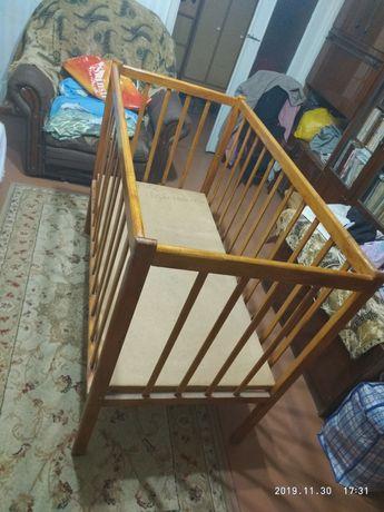 Детская кроватка манеж...