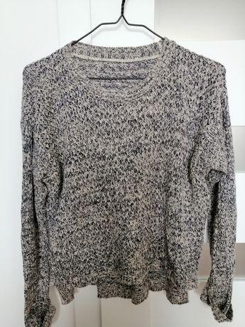 Szary sweterek S/M