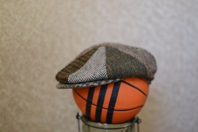 Жиганка Кепка Англия, .Твидовая кепка Harris Tweed,Barbour и др.фирмы.