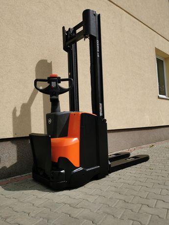 TOYOTA BT SWE 140 3.3m / 1400 kg wózek widłowy paleciak elektryczny