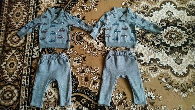 Костюм для двойни близнят Ernstings family 12-18 місяців