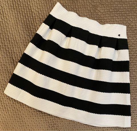 Юбка Guess, юбка в полоску