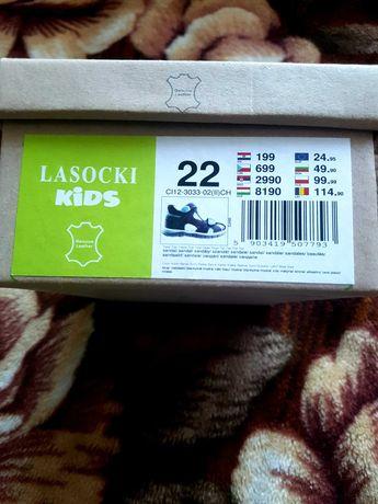 Buty dziecięce Lasocki Skórzane 22