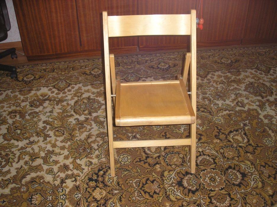 Продам стулья складные деревянные. Могилев-Подольский - изображение 1