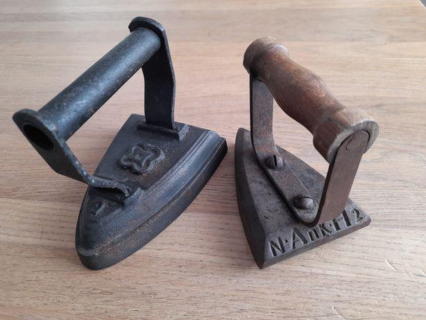 Stare żelazko zabytkowe