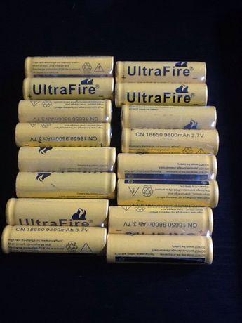 Bateria ultrafire cn18650 tenho mais. Posso enviar fich.