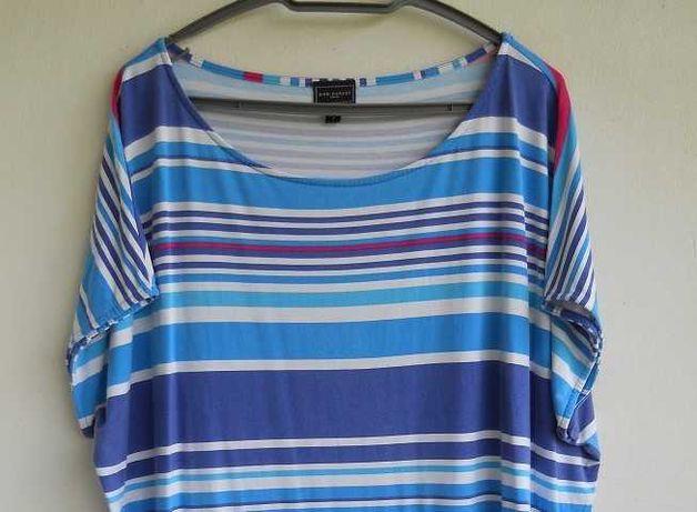 Ann Harvey fajna Bluzeczka na lato w Paseczki dla Puszystej Pani DUŻA