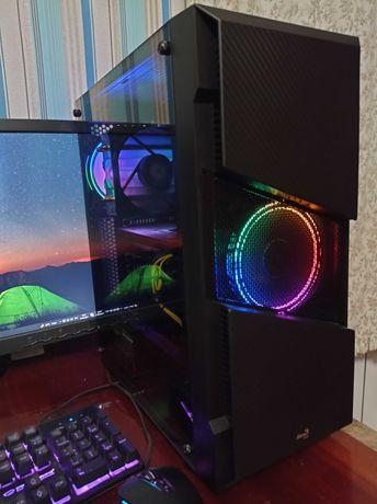 Игровой компьютер ПК системный блок Intel i7/16Gb/RX580/SSD+HDD