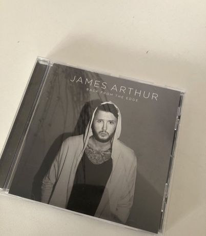 JAMES ARTUR - back from the edge plyta cd